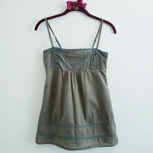 MNG by Mango Khaki Green Camisole Top